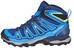 Salomon X Ultra Mid 2 GTX Hiking Shoes Men blue depth/union blue/gecko green